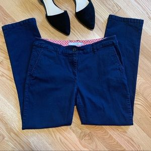 Boden Navy 7/8 Chino Ankle Pants C8